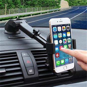 Car Windshield Mount Cell Phone Holder 360 Degree for IPhone 7 8 X XS PLUS Phone Mount Stand De Celular Luxury Car Accessories
