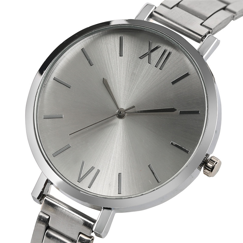 Creative Slim Women Watches Pulsera Reloj Ladies Full Stainless Steel - Relojes para mujeres