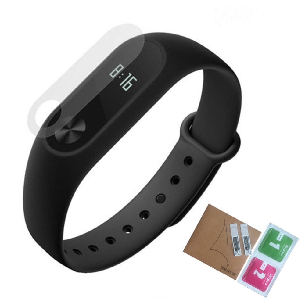 Screen Protective Film For Xiaomi Mi Band 2 Band2 Screen Protector Miband2 Mi Band 2 Hd Ultra Thin Anti-scratch Protective Film