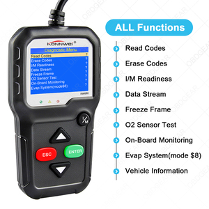Image 2 - 2020 Best Quality OBD2 Car Diagnostic Scanner KONNWEI KW680s Full OBD 2 Function Car Scanner  Car Diagnostic Tools  For the Car