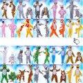 Дети Мультфильм Животных Косплей Костюмы Тигр Зебра Обезьяна Динозавр Партия Одежды Животное Костюм Комбинезон Для Детей Мальчик Девочка