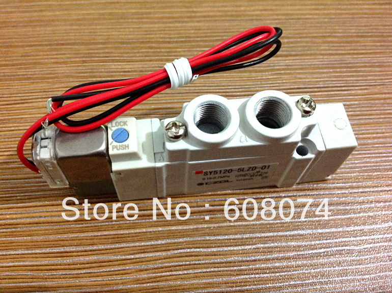 SMC TYPE Pneumatic Solenoid Valve  SY5120-6LZD-C6 5 port solenoid valve sy5120 5gd c6 smc type made in china