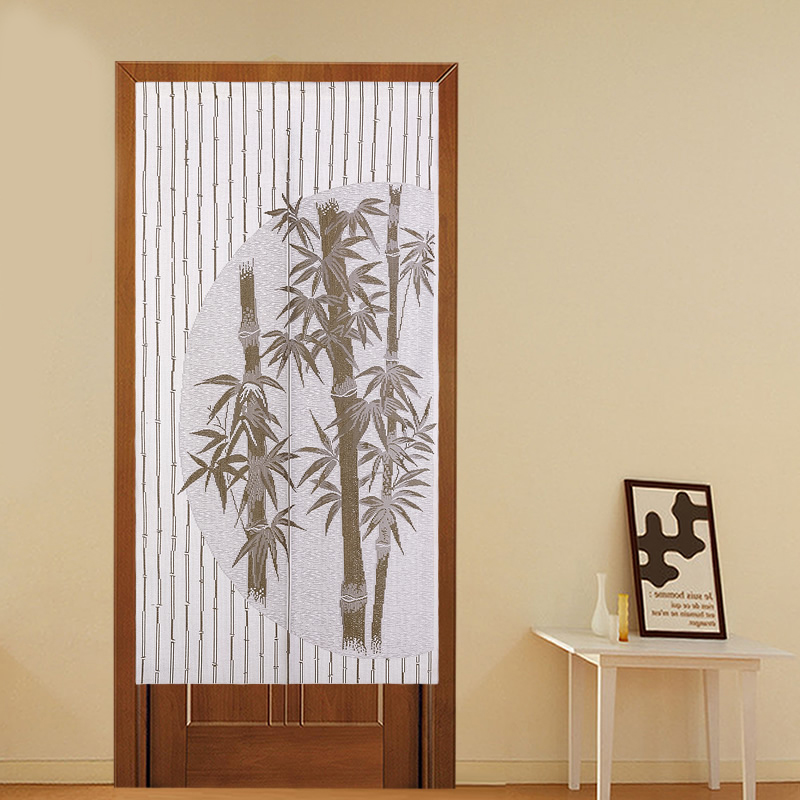 Knitting Decorative Doo Rcurtain Kitchen Bamboo Door Curtains Japanese Half Shade Curtain