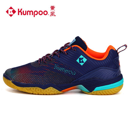 2018 Kumpoo Professional Badminton Shoes for Women and Men Breathable Antiskid Shock Absorbant Athletic Sports Sneakers
