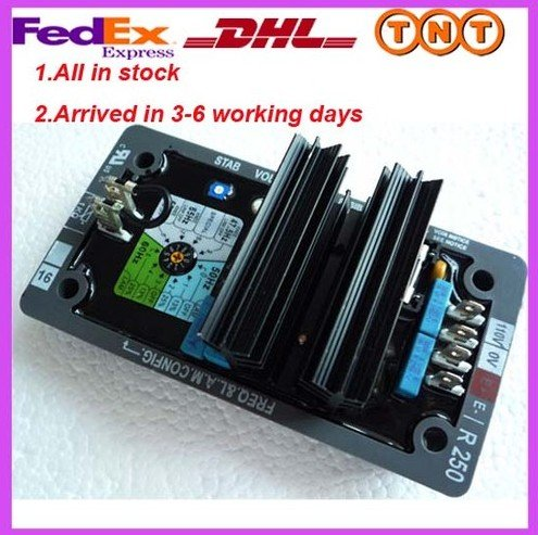 R250 AVR Automatic Voltage Regulator,free shipping by FEDEX/EMS express