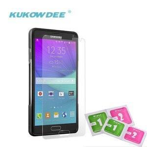 Koowdee 2 шт Защитная ЖК-пленка из закаленного стекла для Samsung Galaxy S7 S6 S4 S5 S3 S2 S NOTE 5 4 3 2 1 Защитная пленка для экрана