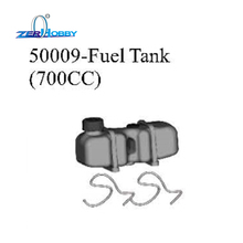 RC CAR SPARE PARTS 700CC FUEL TANK PART NO. 50009 FOR HSP 1/5 GAS MONSTER TRUCK 94050