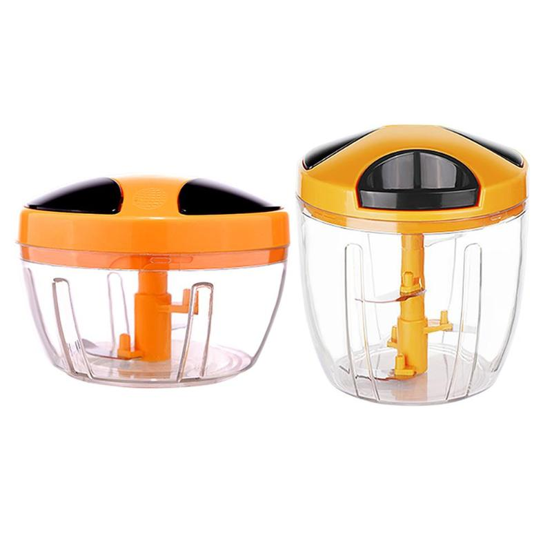 Manual Fruit Vegetable Chopper Hand Pull Food Cutter Onion Nuts Grinder Portable Mincer Household Kitchen Applicance hand pull design manual meat grinder garlic grinder food chopper