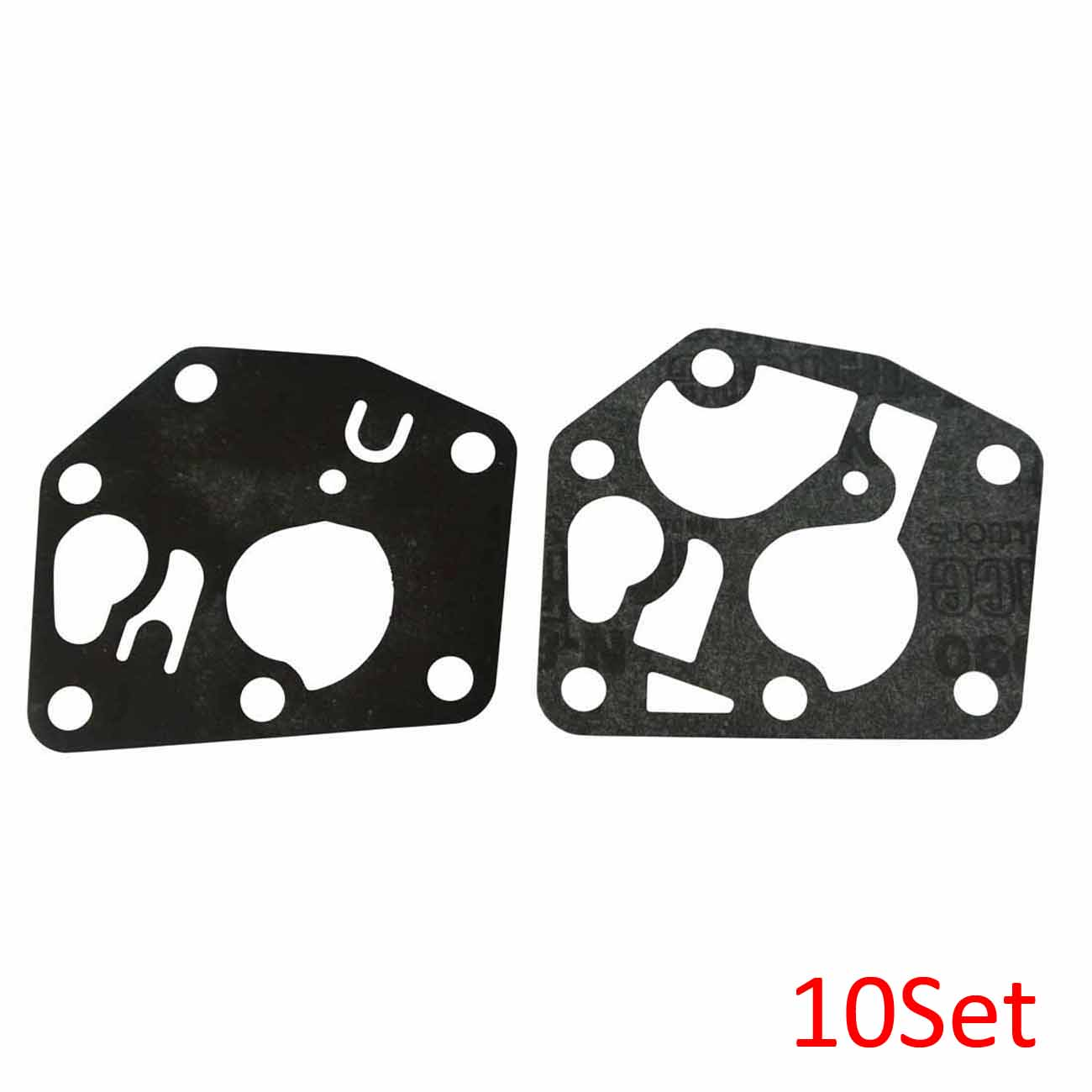 Carburettor Carb Gasket Kit For <font><b>Briggs</b></font> Stratton Carburettor Diaphragm <font><b>795083</b></font> 10Set image