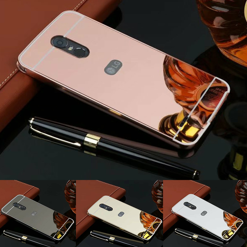 For <font><b>LG</b></font> Stylus 3 <font><b>Case</b></font> <font><b>Stylo</b></font> 3 Luxury Gold Mirror Protective Back Cover For <font><b>LG</b></font> <font><b>G</b></font> Stylus 3/ K10 Pro LS777 5.7
