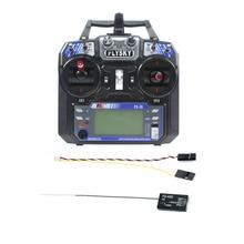 Flysky FS-i6 6CH 2.4G AFHDS 2A LCD Transmitter Radio System w/ FS-A8S V2 Receive