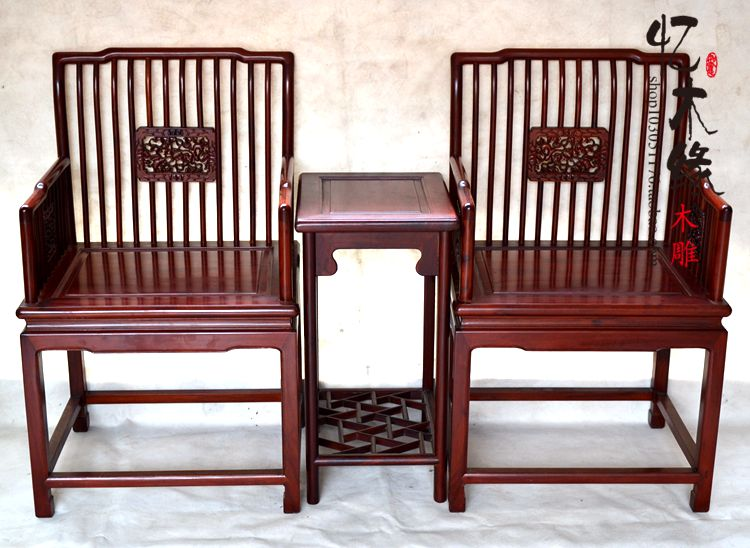 African mahogany furniture mahogany armchair coffee table 3 sets of solid wood chairs fauteuil chair chair