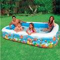 305*183*56 см Тропических Надувной Семейный Бассейн Воды PoolBaby Площади Детский Бассейн Детская Площадка Piscina Bebe Zwembad A206