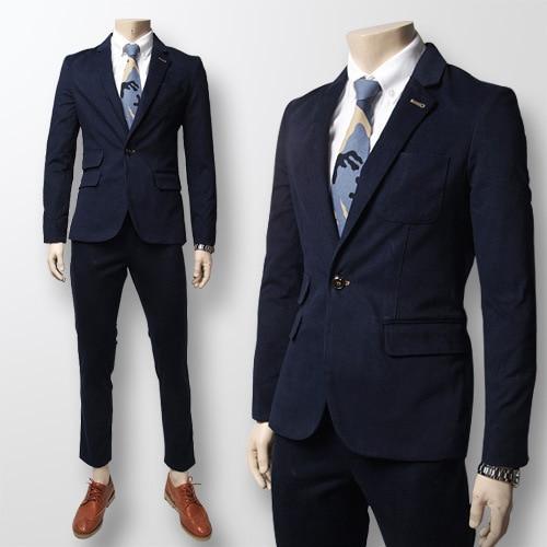 Online Shop Cheap Fashion Commerce Men Prom Suits (Blazer  Pants ...