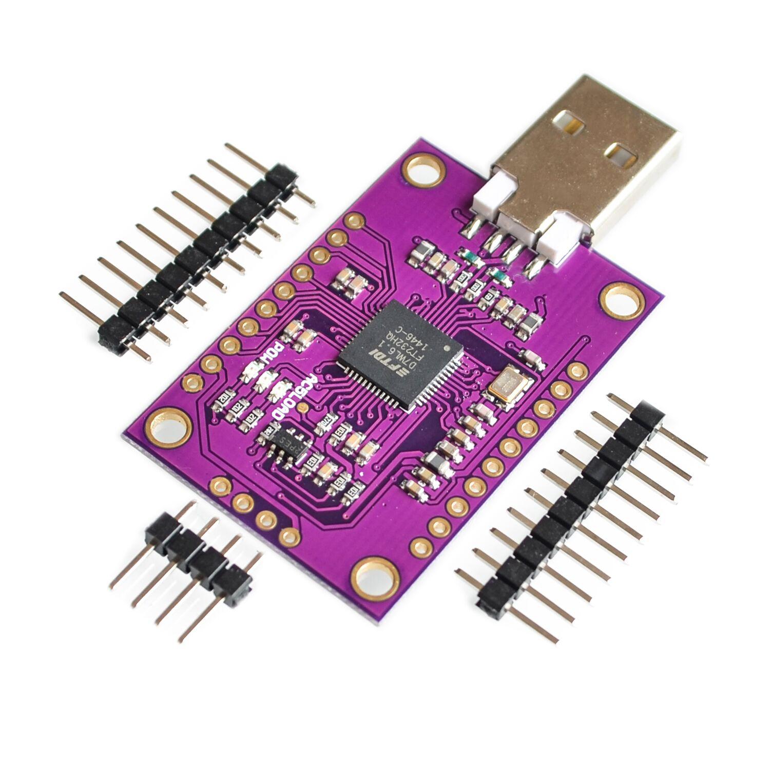 Ft232h multifunções de alta velocidade usb para jtag uart/módulo fifo spi/i2c