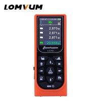 100m Laser Rangefinders Distance Measurer Meter Usb Rechargable Digital Distance Meter Color Display Lazer Metre LOMVUM