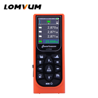 100m Laser Rangefinders Distance Measurer Meter Usb Rechargable Digital Distance Meter Color Display Lazer Metre LOMVUM