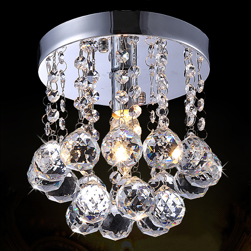 Crystal Pendant Light Modern Mini Lighting Fixture for Living room Decor, Free Shipping недорого