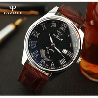 YAZOLE Men S Watch 2016 Top Brand Luxury Male Clock Mens Watches Luminous Pointer Wrist Quartz