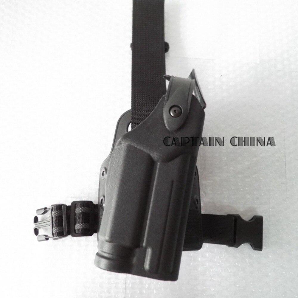P228 P229 SIG SAUER P226 pistolera Táctica de caza muslo de la polaina Pierna de