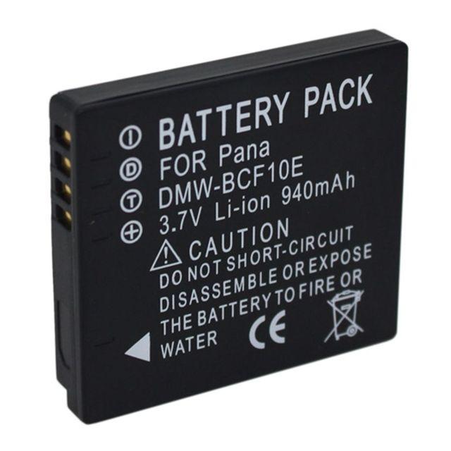 WHCYonline 940 mAh DMW-BCF10 DMW BCF10E BCF10 Camera Battery Cho Panasonic CGA-S106 S106B S/106C S/106D S/106B