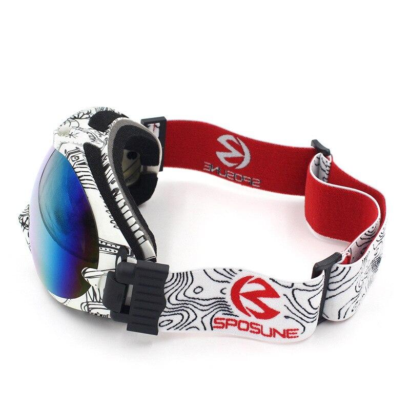 Doppel Objektiv Anti-fog-Ski Brille Männer Frauen Schnee Skifahren Gläser Jungen Mädchen Ski Googles Brillen gafas Ausrüstung Snowboard brille