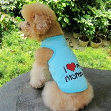 Pet Dog Vest Shirt Clothes Cute