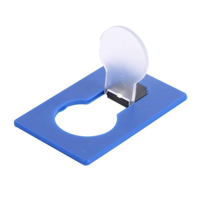 Portable Mini Lighting Wallet LED Card 8