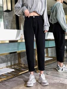 GCAROL 2019 Summer Elastic Waist Vintage Pants Plus Size