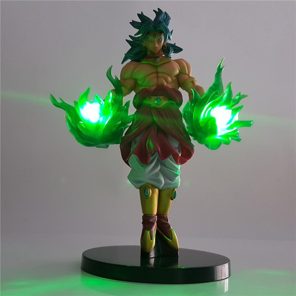 Dragon Ball Z Figuras De Acci N Broli DIY Night Light Dragon Ball Lampara Green Power Anime Figure Super Broli Model Child Gifts