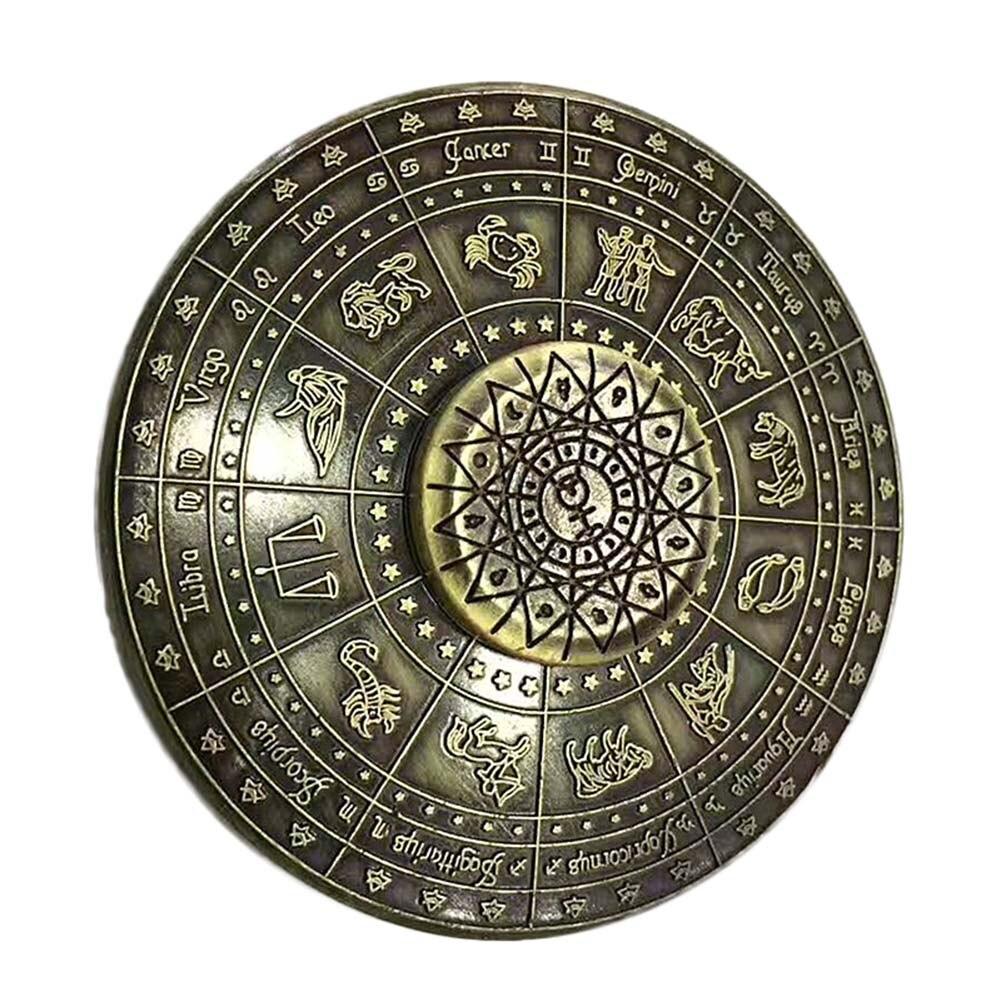 Ancient Fidget Spinner Metal EDC Cool Stress Toy Egypt 12 Constellation Hand Spiner Finger Spinner