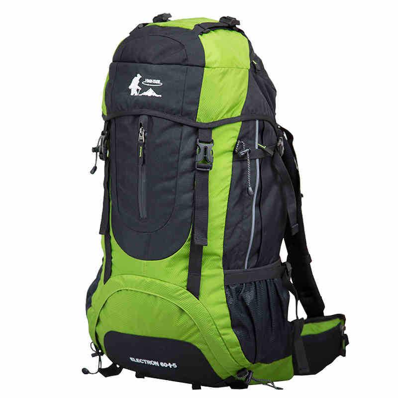 60L Cool Outdoor Mountaineering Bag Large Capacity Travel Backpack Camping Tents Bag Equipment Backpack A5118