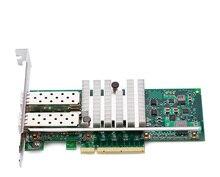Hot sale intel 82599ES Chipset SFP Fiber Optic lan card server network card