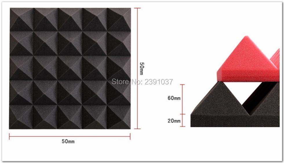 Helt ny 8stk stor storlek 50x50x8cm Mörkgrå pyramidformad - Heminredning - Foto 2