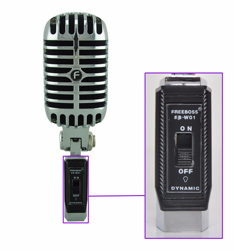 FB-W01 14 Wired Microphone