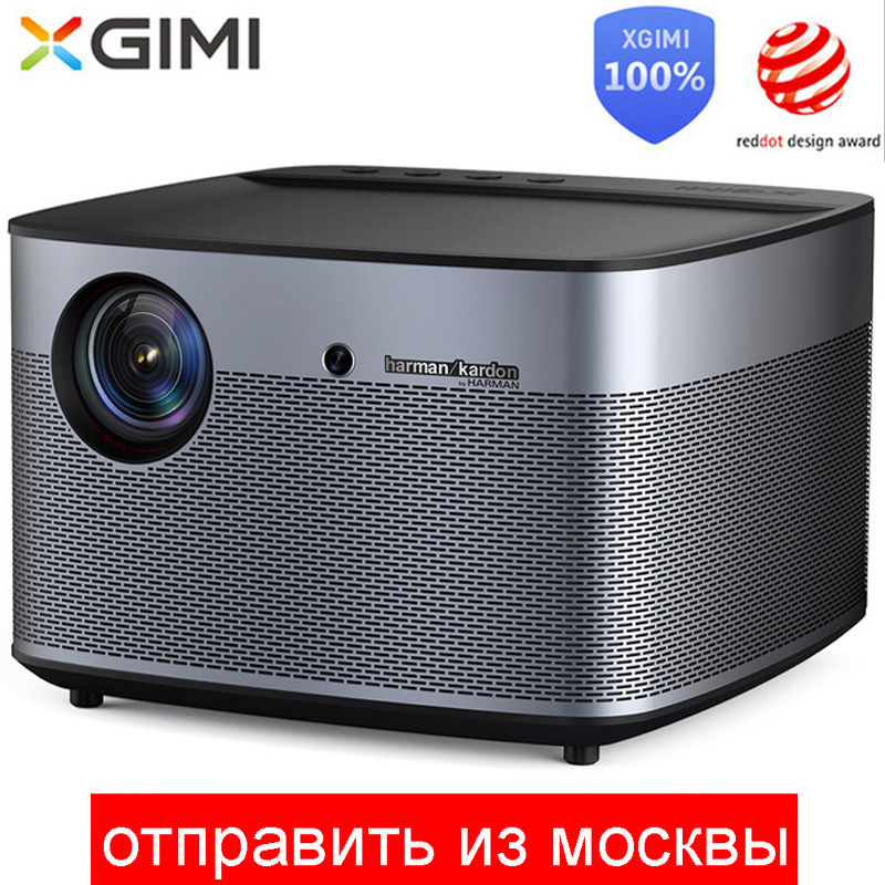XGIMI H2 Proiettore DLP 1080 p Full HD di Scatto 3D 4 K Video Proiettore Android tv Bluetooth Wifi Home Theater compensazione del movimento