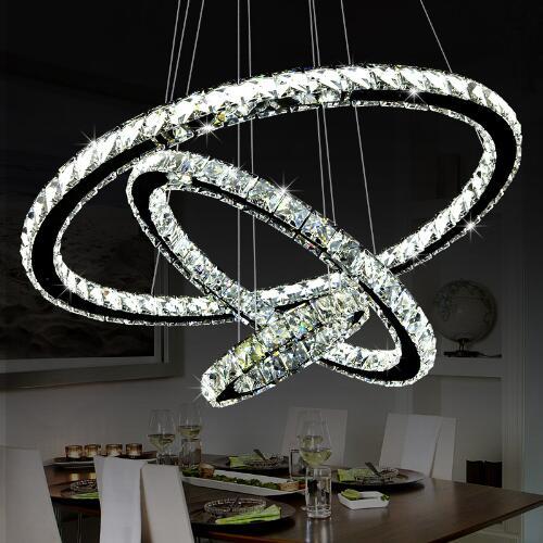 US $78.98 21% OFF|Moderno LED Lampadario Di Cristallo Illumina La Lampada  Per Soggiorno Cristal Lustre Lampadari Illuminazione Ciondolo Plafoniere-in  ...