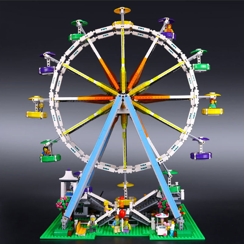 2518pcs Leping 15012 The Creator Expert Ferris Wheel Building Brick Education Toys Girls Gift Compatible Toys Gift lacywear s52715 2518 2542