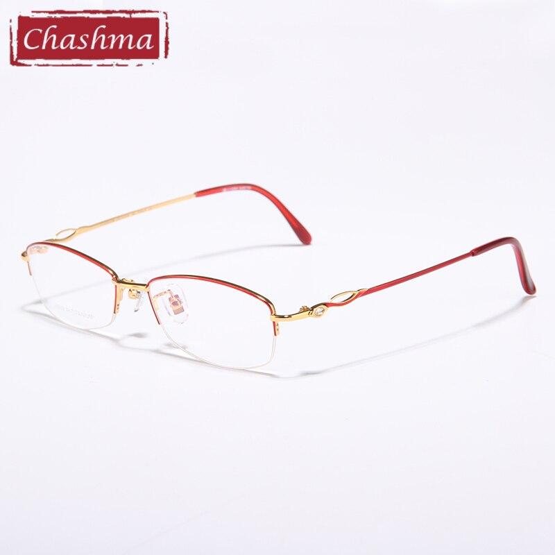 Chashma Óculos Mulheres Optical Óculos Claros óculos de sol luneta de vue  Femme Feminino óculos de armação armação em Armações de óculos de  Acessórios de ... 296d935158