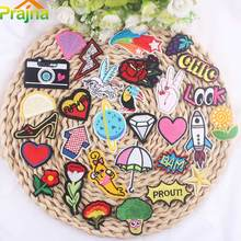 ZOTOONE Mixed Small Cheap Diamond Lightning Flower Embroidered Patches Iron On Kids Cute Animals Letter For Garments B