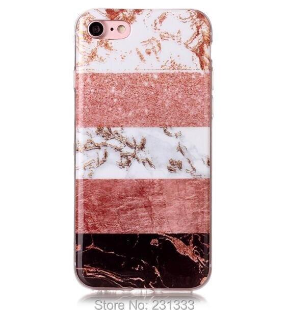 C ku Glitter Marble Granite Soft TPU Case For IPhone X XS