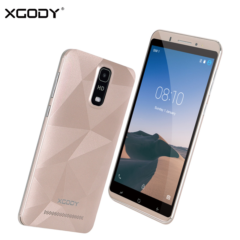 XGODY Y18 Smartphone 6 Inch Android 5 1 3G Unlock Dual Sim MTK MT6580 Quad Core