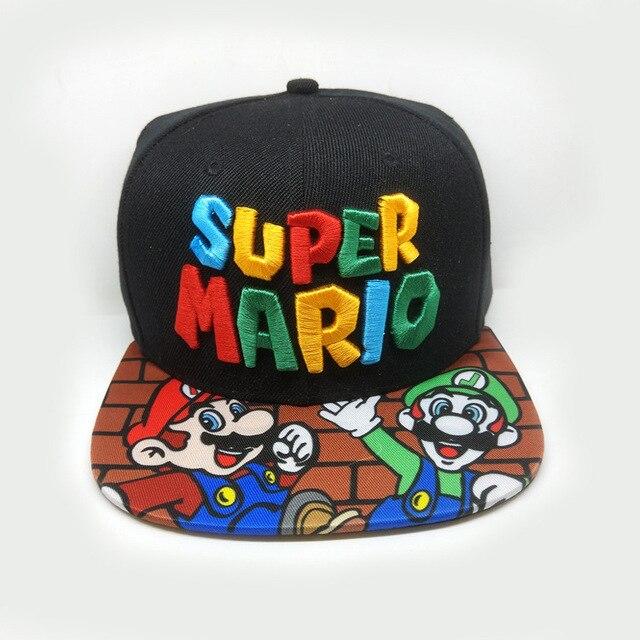 78df2cc6e3a Handmade New Super Mario Cosplay Props Baseball Hat Mario Bros Cosplay Cap  Game Super Mario Hat Adult Kids Cosplay Caps