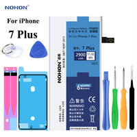 New NOHON Battery For Apple IPhone 7 Plus IPhone7 Plus I Phone Real Capacity 2900mAh Replacement