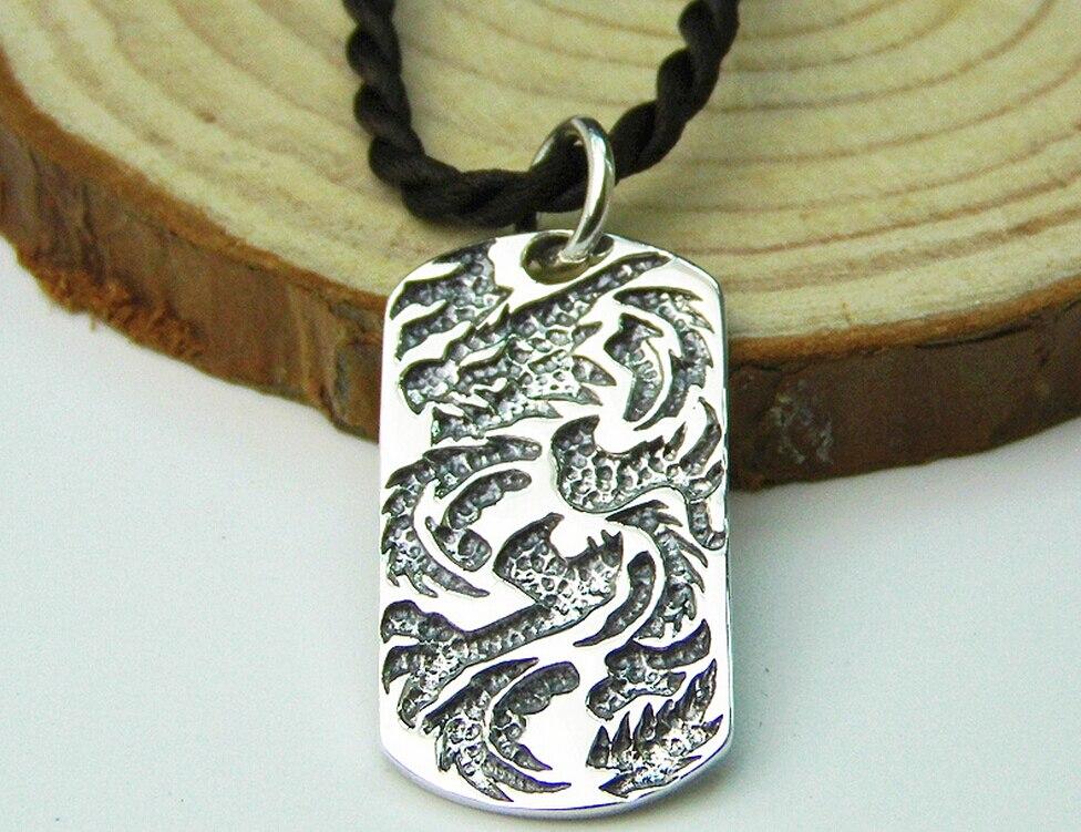 5c4342423a80 Joyería de plata tailandesa cosecha colgante 925 plata esterlina retro  figura colgante moda joyería de plata personalizada
