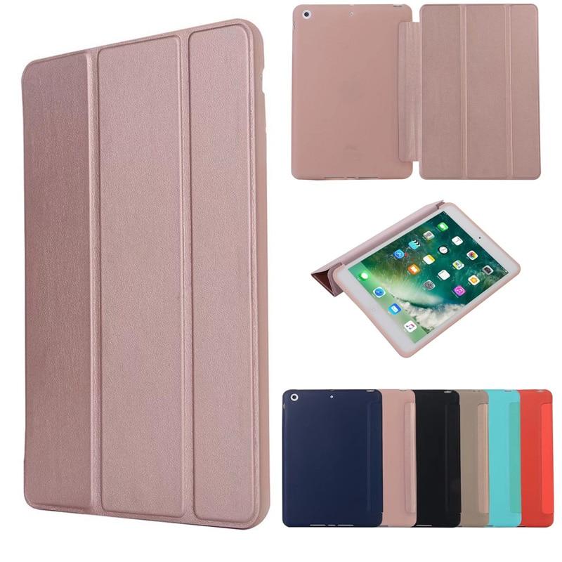Case for iPad Mini 3 2 1 Case PU Leather Silicone Soft Back Trifold Stand Auto Sleep/Wake up Smart Cover for iPad Mini 2 Case