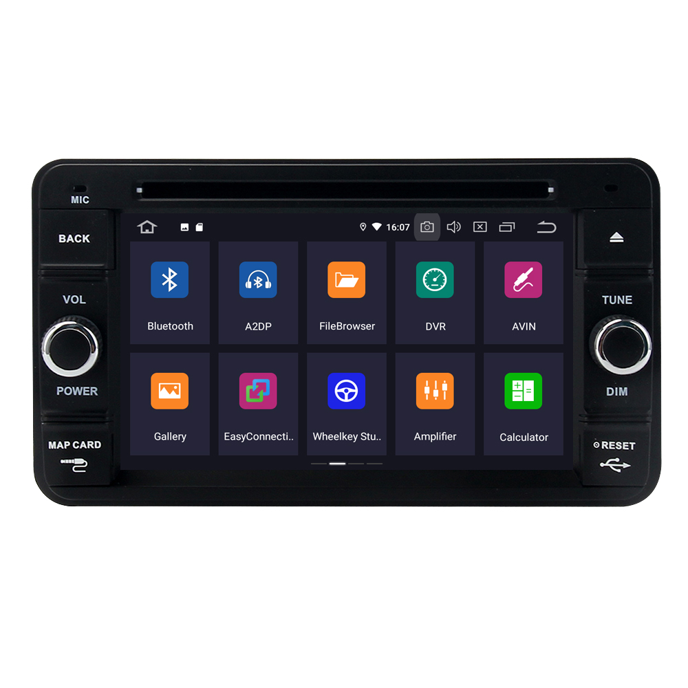 Excellent For Suzuki Jimny 2007 - 2013 Android 9.0 2G+16G Quad Core Autoradio Car DVD Radio Stereo GPS Navigation Multimedia Player 1