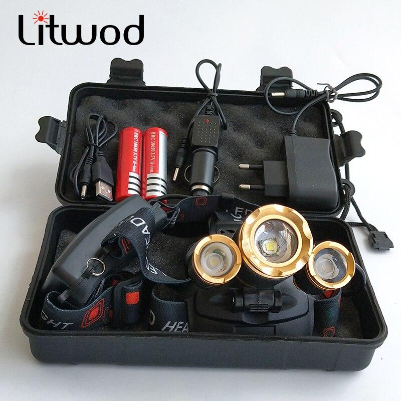 Z40 IR senzor LED prednja svjetla prednjih svjetala Glava svjetiljke - Prijenosna rasvjeta - Foto 6