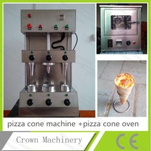 Free Shipping  Stainless steel 3pcs pizza cone maker machine+pizza cone oven; 3 head cone pizza machine+cone pizza oven