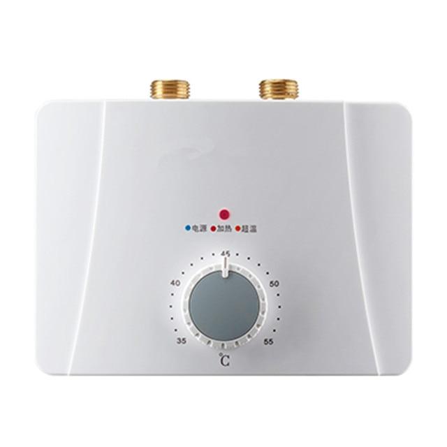 5500W Intelligent Constant Temperature Hot Water Heater Shower Type Fast  Electric Water Heating Machine Kitchen Hot